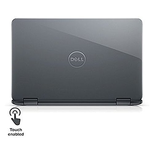 Product Image 5: 2018 Newest Dell Lightweight Inspiron 11.6″ Touchscreen 2 in 1 Laptop PC AMD A6-9220e Processor 4GB DDR4 RAM 32GB eMMC SSD Hard Drive Radeon R4 Graphics Wifi Webcam Bluetooth 3.2 Lbs Windows 10-Gray