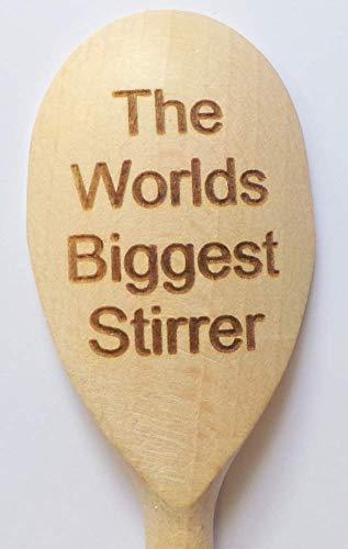 The Worlds Biggest Stirrer Wooden Spoon ~ Novelty Joke Gift