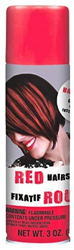 2021 spring and summer Max 83% OFF new Amscan Hair Spray Party Red Accessory