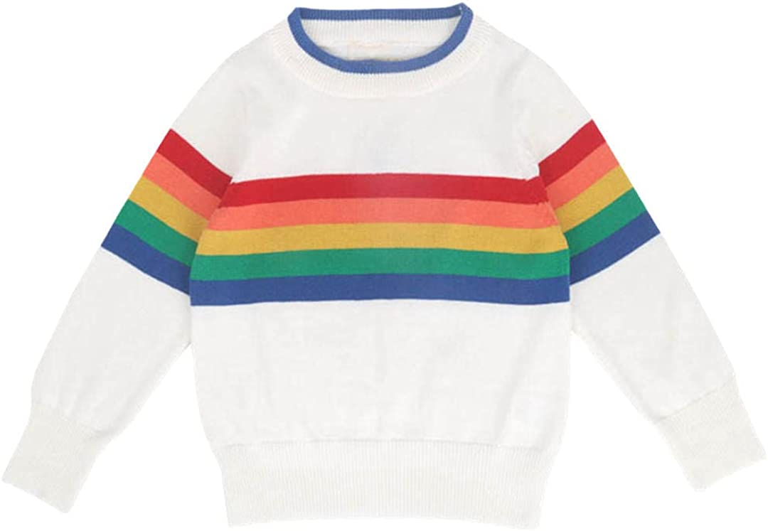 Children Baby Sweaters Children Warm Pullovers Sweaters Girls Knitted Loose Tops