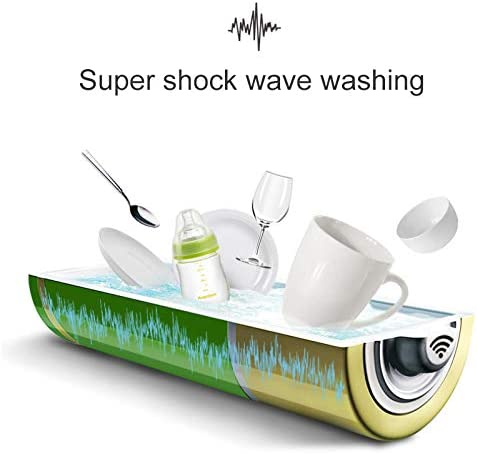 blue MINI Portable Dishwasher Dishwasher Lazy Portable Kitchen Surf Dishwasher Family Tools Kitchen Cleaning Tool Accessories