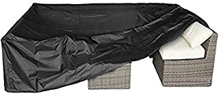 """Patio Furniture Set Cover Outdoor Sectional Sofa Set Covers Outdoor Table and Chair Set Covers Water Resistant Large 98"""" L..."""