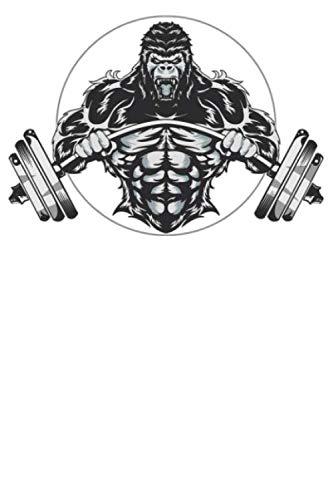 Fitness: Notizbuch DIN A5 Gepunktet / Dotted 120 Seiten Bodybuilder Bodybuilding Training Sport Motivation Gym Workout Diät Squat pumpen Geschenkidee ... Planer Tagebuch Notizheft Notizblock