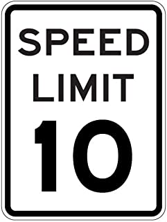 lighted speed limit signs
