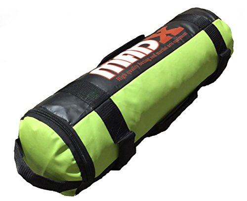 MADX Power Chiffon/sac rempli de sable crossfit de boxe MMA entraînement fitness 0–30 kg, Green