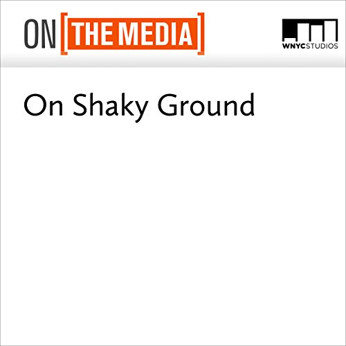 On Shaky Ground audiobook cover art