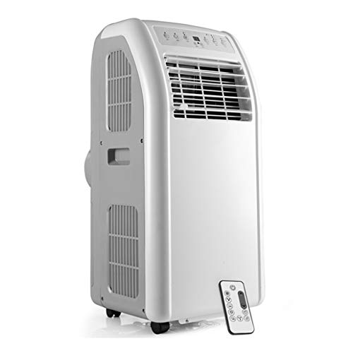 JCOCO 10000 BTU Portable Air Conditioner, 4-in-1(Fan/heater/dehumidifier/air conditioner) Unit with 2 Fan Speeds, Remote Control, With air hose,Smart without drain