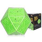 Juego laberinto 3d cubo Maze Ball 3D Juego De Laberinto Interactivo Tridimensional, Bola Tridimensional 3D Cubo Rodante Desarrollo De Inteligencia Para Niños Puzzle Focus Training Ball,(Color:C)