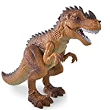 DEORBOB High-Tech-Infrarot-Revolver, der ferngesteuertes Dinosaurierspielzeug mit Gehen, simuliertem Brüllen, Zerstäubung und Feuersprühfunktionen interagiert Interaktion Kindergeschenke für Kinder
