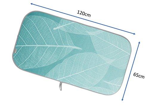 ブラバンシアアイロンマットミントリーブデザイン105562