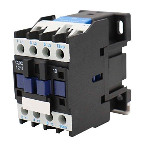 Baomain Motor Controller AC Contactor CJX2-1210 220-230V 50/60Hz 3 Phase 1NO 660V 20A