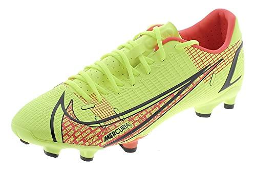 Nike Vapor 14 Academy Fg/MG, Scarpe da Calcio Uomo, Volt/Bright Crimson, 42.5 EU