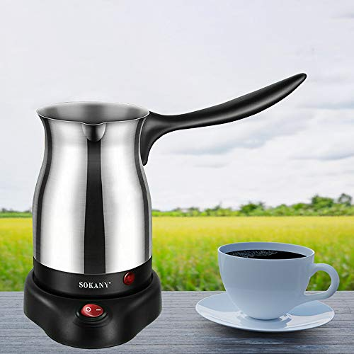 Stainless Steel Electric Turkish Coffee Maker, Stainless Steel Electric...