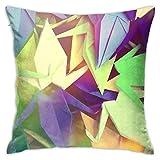 Funda de Cojine Throw Pillow Case, Origami Pillow Cover, Cojín decorativo de almohada Cojines 45X45CM