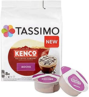 Tassimo Kenco Mocha Coffee Pods 8 per Pack