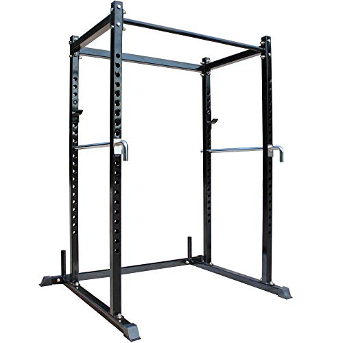 Titan Fitness T-2 Series Short Power Rack, 700 LB Capacity Cage for Weightlifting and Strength Training
