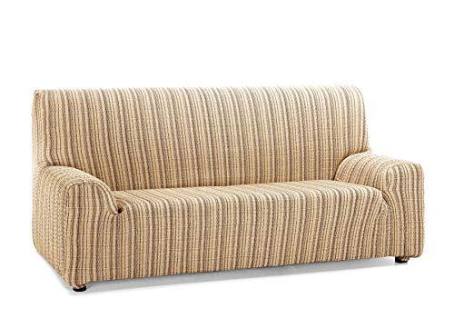Martina Home Mejico - Funda de sofá elástica, Doré, 3 Plazas, 180 a 240 cm de ancho