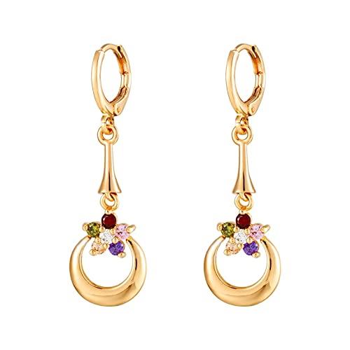 Orecchini da donna Orecchini del pendente dei monili di modo delle signore orecchini di personalità placcati oro orecchini orecchini Decorazioni dei gioielli del partito for le donne Orecchini alla mo