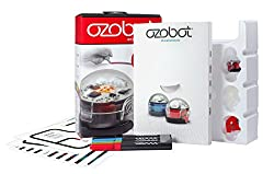 Ozobot Bit 2.0 Starter Pack, Programmable Robot Toy, Red