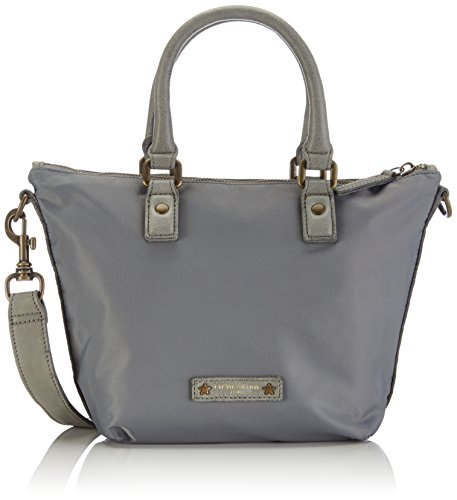 Liebeskind Berlin Handbag, Gray-Grau (Grey_pnylon)