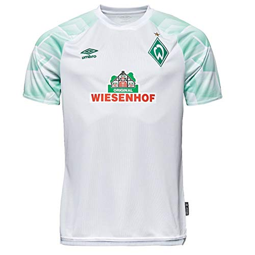 UMBRO Werder Bremen Trikot Away 20/21 (XL, White/Green)