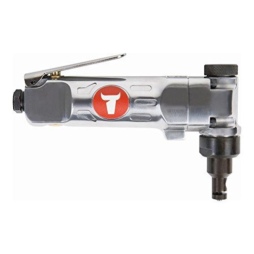 STIER Blechknabber, BK-12 in der Länge 176mm inkl Stecknippel 1/4 Zoll, Blechnibbler zum Schneiden von flachen Materialien aus Blech, Edelstahl oder Kunststoff