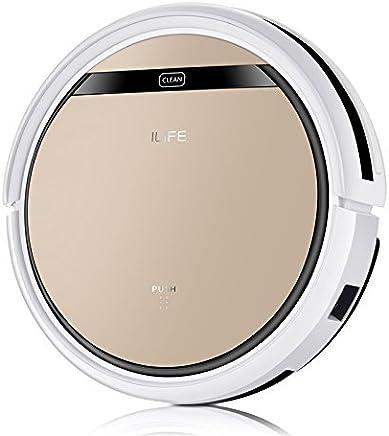 ILIFE V5SPRO V5s Pro Aspiradora con Tanque de Agua, Robot de Limpieza para Suelos Barrer y Fregar automáticamente, 22 W, 0.3 litros, 0 Decibelios, Plástico