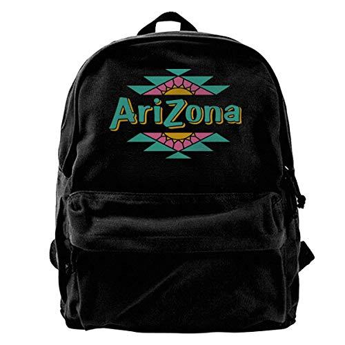 Yuanmeiju Fashion Canvas Backpack Arizona Ice Tea Lightweight Multi Function College School Laptop Backpack