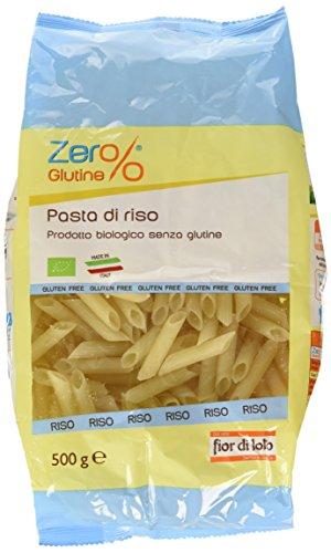 Zer% Glutine Penne di Riso - 500 gr - [confezione da 4]