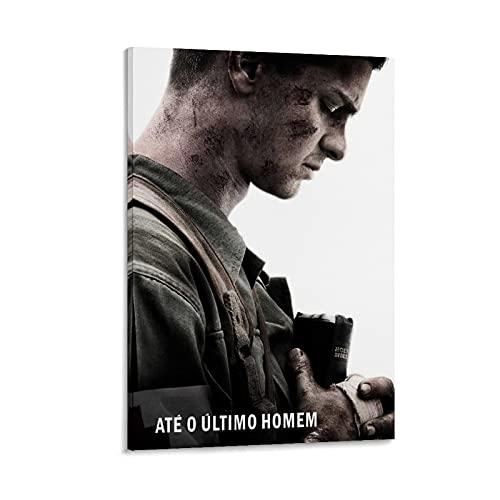Poster decorativo da parete con film di guerra biografico della guerra della storia, poster decorativo su tela, per soggiorno, camera da letto, 40 x 60 cm