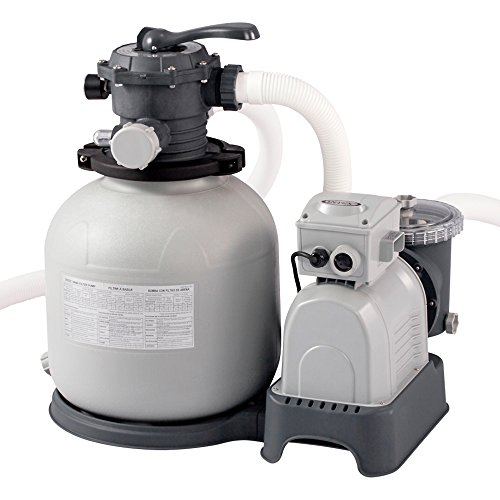 Intex Krystal Clear Sand Filter Pump - Poolreinigung - Sandfilteranlage - 10,5 m³ - 220-240V