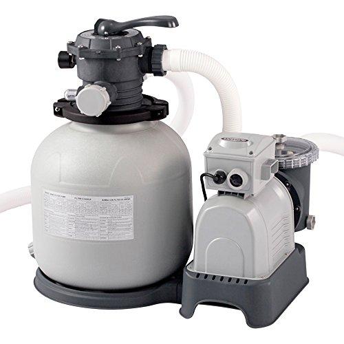 Intex Krystal Clear Sand Filter Pump - Pulizia piscine - Sistema di filtri a sabbia - 10,5 m³ - 220-240V