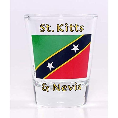 St Martin//St Maarten Sunset Shot Glass agc