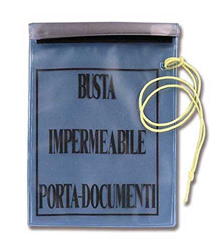 Busta porta documenti impermeabile stagna trasparente portadocumenti
