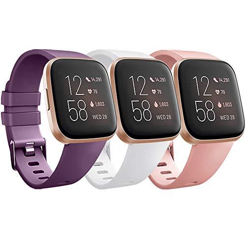 Muñequera compatible para Fitbit Versa 2, deportes pulsera para Fitbit Versa 2 / Versa Lite