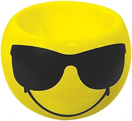 Preisvergleich für Zak Designs 6727-4464 Smiley Emoticon Sonnenbrille Eierbecher gelb