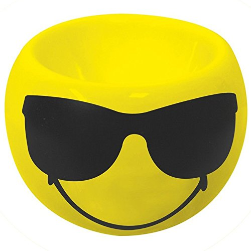 Zak Designs 6727-4464 Smiley Emoticon Sonnenbrille Eierbecher gelb
