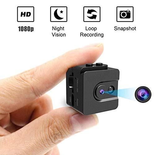 IGRNG Kleines Go Pro Kamera-Digital-Videokamera, Nachtsicht-Funktion, HD1080P, bewegliche, Outdoor Sport Kamera