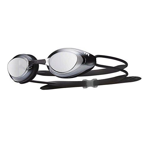 TYR Blackhawk Miroir Gafas de Natación, Unisex Adulto, Gris/Negro (Metalizado), Talla Única