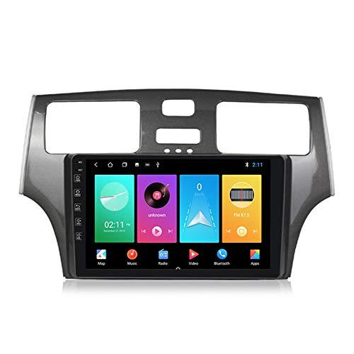 ADMLZQQ Android 10 GPS Navigation Car Stereo Radio,para Lexus ES250 2001-2006 HD Pantalla Táctil FM Enlace Espejo Controles del Volante Carplay Integrado+DSP(M300/M500/M600),M150 2+32g
