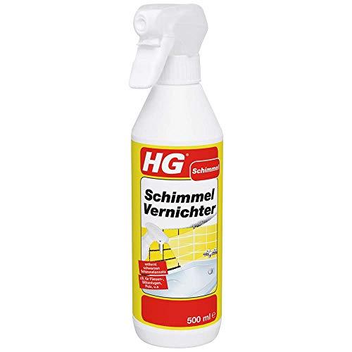 HG Schimmel Vernichter 500 ml – beseitigt Schimmel aller Art hygienisch und gründlich