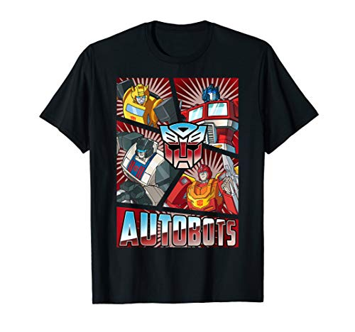 Transformers Autobots Panels T-Shirt