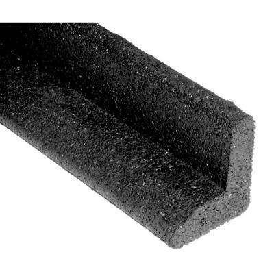 EcoBorder 4 ft. Black Rubber Landscape Edging (6-Count) (Pack of 3)