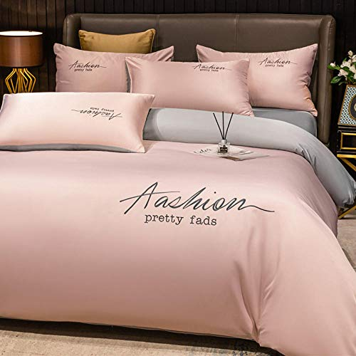 Cactuso Super King Size Duvet Cover Sets,Protector Cover Premium Bedding Extra Soft Comforter Luxury Grey (Double)