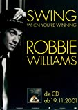 Robbie Williams - Swing, 2001 » Konzertplakat/Premium