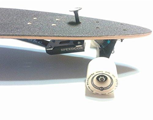 Longboard Bremse 2.0 für Top Mount (EIN NEU NTR Gummi-Brems-Kit)