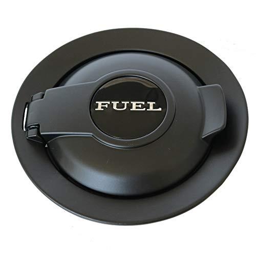 dodge challenger fuel door black - 1