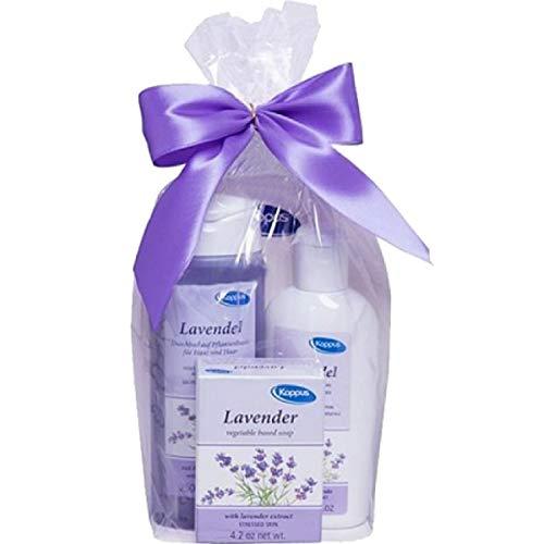 Kappus Geschenkset Lavendel 3-teilig verpackt