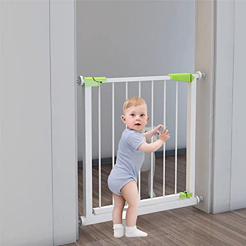 Puerta De Seguridad De Niños Puertas De Puertas Puertas De Puertas De Puertas De Puertas Autoricionales Función De Cierre Automático, Se Utiliza Para Proteger Niños, Seguridad D(Size:A+20CM(96-102cm))