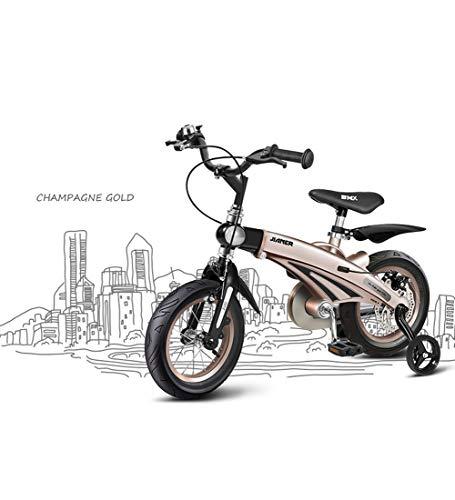 SJSF Y Mit dem Fahrrad für Laufräder von Boy, mit Rahmen aus Magnesiumlegierung, um die Proportionen Ihres Kindes anzupassen, 12-14-16- Zoll Radgrößen,12inches
